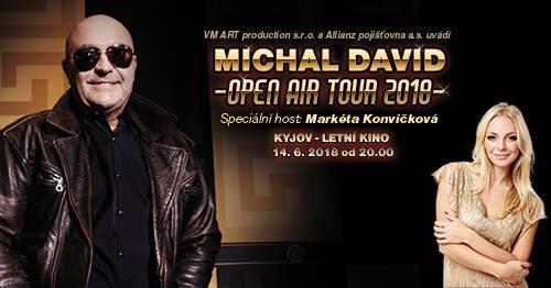 Michal David - Open Air Tour 2018 - Kyjov