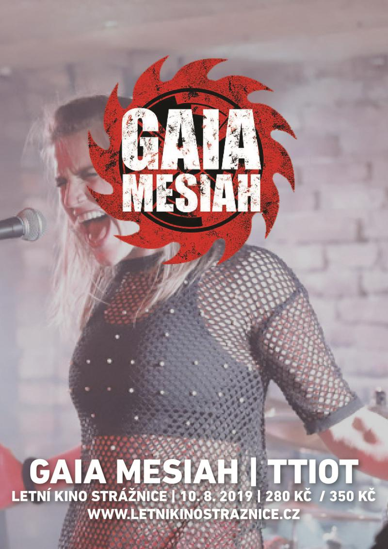 Gaia Mesiah + The Truth Is Out There - Strážnice
