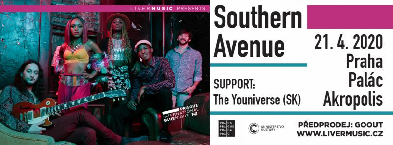 Southern Avenue + The Youniverse - Praha