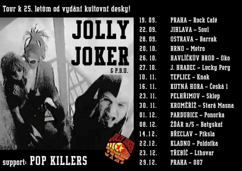 Jolly Joker And The Plastic Beatles Of The Universe - Tour 25 let - Teplice