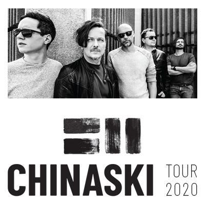 Chinaski - Tour 2020 - Jihlava