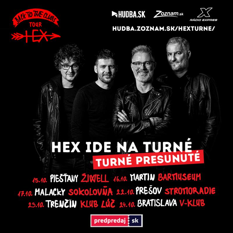 Hex - Back to the clubs Tour - Bratislava